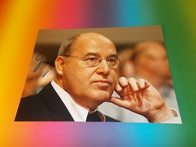 Gregor Gysi SED PDS DDR  signed signiert  Autogramm auf 20x27 Foto in person