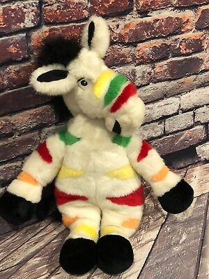 1990 Yipes Fruit Stripe Gum Advertising Plush