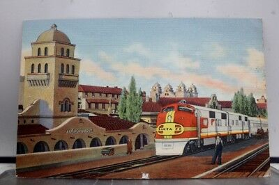 New Mexico NM Santa Fe Super Chief Albuquerque Postcard Old Vintage Card View PC