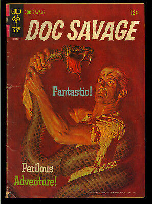 Doc Savage #1 Nice First Issue One-Shot Gold Key Comic 1966 VG+