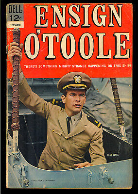 Ensign O'Toole #1 First Issue Dell TV Photo Cover Comic 1963 GD+