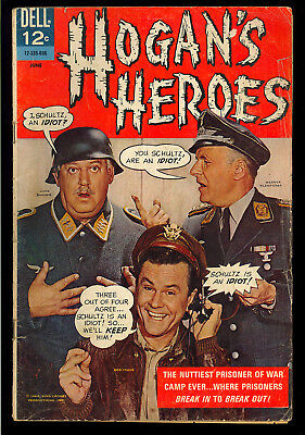 Hogan's Heroes #1 First Issue Dell TV Photo Cover Comic 1966 GD-VG
