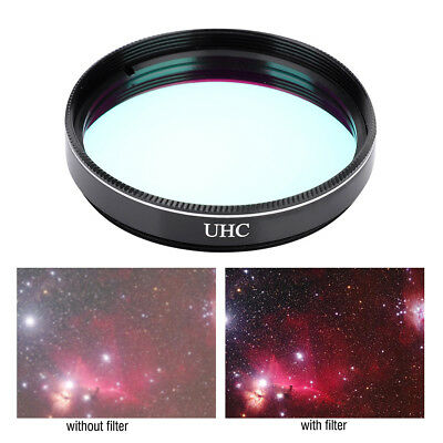 """2"""" UHC Filter Ultra Light Pollution Reduction Lens for Telescope Eyepiece DY"""