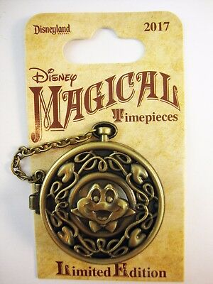 DLR DISNEYLAND 2017 Magical TIMEPIECES Pin MR. TOAD's Wild RIDE LE 2000