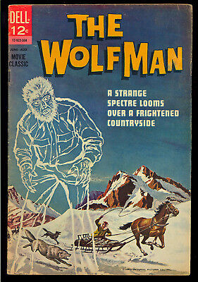 Movie Classic: The Wolfman #1 (First Print) Universal Horror Dell 1963 VG+
