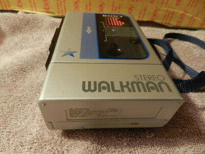 Vintage Sony Walkman WM-8 Stereo Personal Portable Cassette Player TESTED WORKs