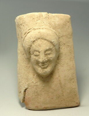Boeotian Terracotta  Protome Of Female Figure (M66)