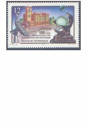 AUSTRIA 2001 INST METEOROLOGY/GEODYNAMICS 150th Anniv (1) Unhinged Mint SG 2603