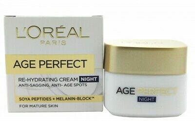 L'oréal Age Perfect Re-Hydrating Night Cream - Women's For Her. New