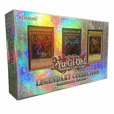 YuGiOh Legendary Collection 1 Gameboard Edition DEUTSCH Götter Karten + Booster