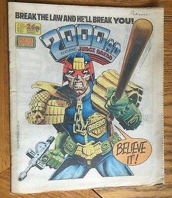 2000AD Prog 511-520 - Complete 10 Issue Run