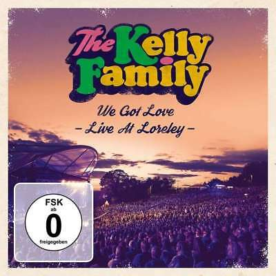 THE KELLY FAMILY We got Love  Live at Loreley  2 CD   NEU & OVP 16.11.2018