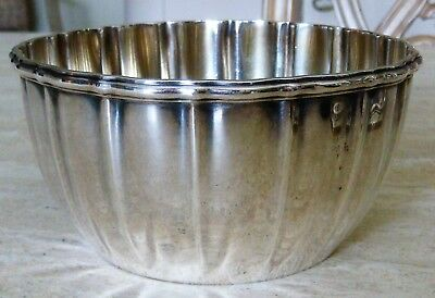Gorham Sterling Silver Bowl Dated 1896  #7609 within an Oval Heavy Special Order