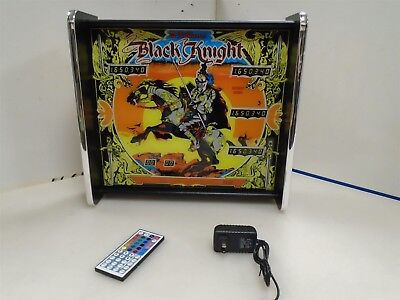 Williams Black Knight Pinball Head LED Display light box