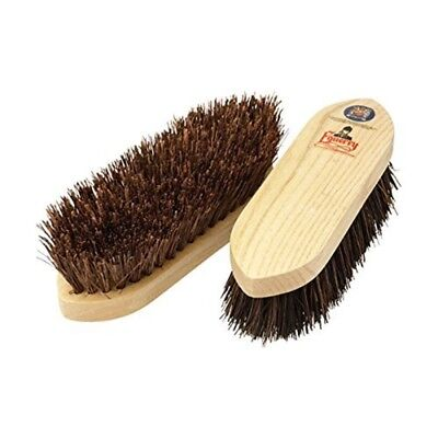 Equerry Natural Bristle Dandy Brush - Wooden Bassine Vale Brothers Horse Pony