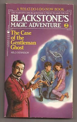 BLACKSTONE'S MAGIC ADVENTURE 2 The Case Of The Gentleman Ghost - Signed Harry Jr