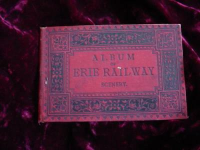 1880's Album of Erie Railway Glaser's photo views of the railroad