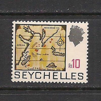SEYCHELLES:  #270 Map of INDIAN OCEAN stamp – MNH --