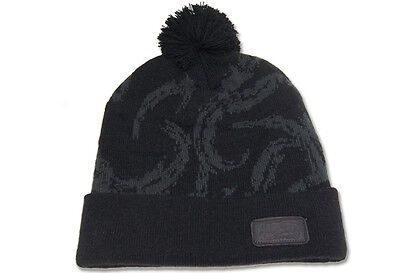 Naruto Shippuden: Black Winter Knit Beanie *NEW*