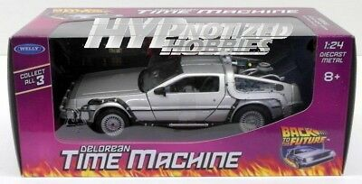 Welly 1:24 Back To The Future Dmc Delorean Time Machine 22443W