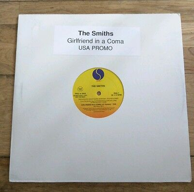 """The Smiths - Girlfriend In A Coma USA Sire - 1987 - Promotional Promo 12"""""""