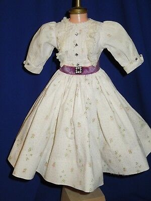 "vintage 50's HTF dress + slip for 20"" Madame Alexander Cissy doll, tag"