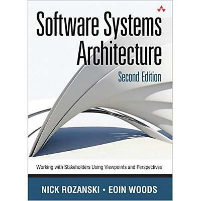 Software Systems Architecture: Working With Stakeholder - Hardcover NEW Nick Roz