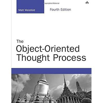 The Object-Oriented Thought Process (Developer's Librar - Paperback NEW Weisfeld