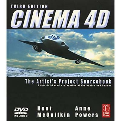 Cinema 4D: The Artist's Project Sourcebook - Paperback NEW McQuilkin, Kent 2011-