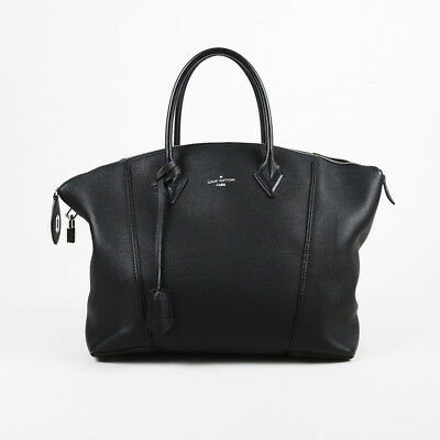 LOUIS VUITTON LIMITED Edition Black Calfskin Leather Cuir Obsession ... 784744ecca553