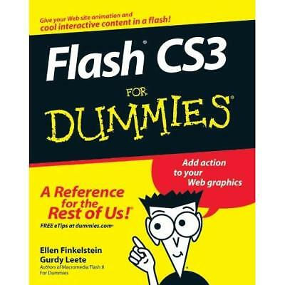 Flash CS3 For Dummies (For Dummies) - Paperback NEW Finkelstein, El 2007-05-15