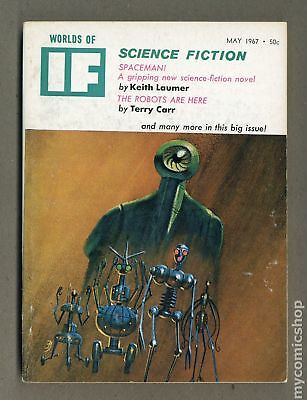 If Worlds of Science Fiction (Pulp Digest) #Vol. 17 #5 1967 VG 4.0 Low Grade