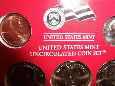 Mint Uncirculated Coin Set 2008 Dever United States
