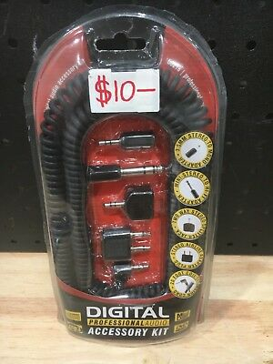 Digital Professional Accessory Kit Dvd Mini Disc 00218 - New