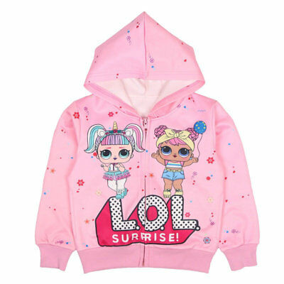 LOL Surprise Doll Kids Girls Hoodie Sweatshirt Tops Pullover Casual Clothes AU