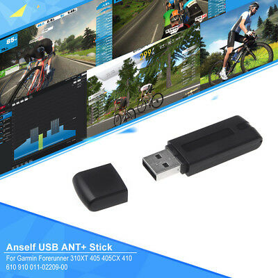ANT+ USB Stick Adapter Compatible With Zwift TrainerRoad PerfPRO Studio