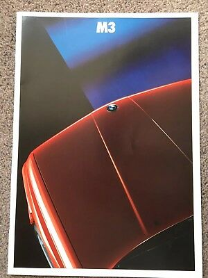 BMW M3 Brochure 1989 English