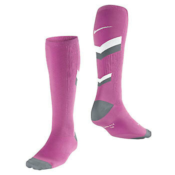 Nike Mens Compression Socks Elite Anti-Blister Support Pink Gym Running Sports
