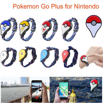 Wearable Pokemon Go Plus Bluetooth Wristband Bracelet Watch Game forNintendo NES