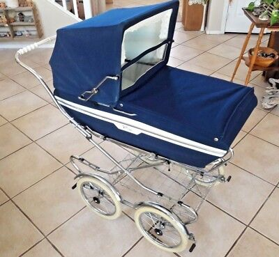 Vintage Perego Stroller Baby Carriage Pram Stroller Made In Italy Near Mint