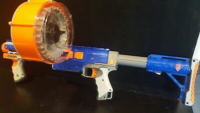 "Nerf N-Strike Raider CS-35 with Drum and Stock about 27.5"" long"