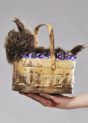 Halloween Zombie Dorothy Toto Basket Purse