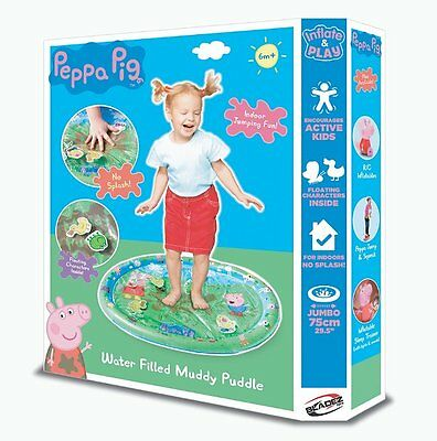 Bladez PEPPA PIG Water Filled INFLATABLE MUDDY PUDDLE Indoor Playmat