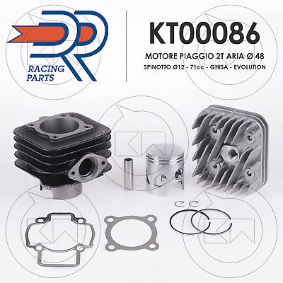 THERMAL UNIT cylinderDRO DR MODIFICATION ENGINE AIR 70cc PIAGGIO NRG Power DT 50