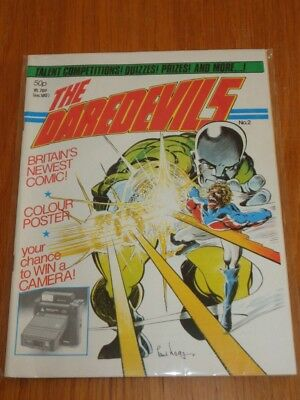 Daredevils #2 Marvel British Monthly February 1983 High Grade (B)^