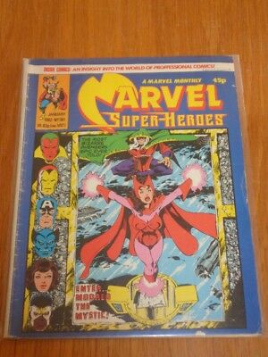 Mighty World Of Marvel Super-Heroes #381 British Monthly January 1982 (A)^