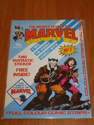 Mighty World Of Marvel Vol 2 #1 British Monthly June 1983 No Gift (C)^