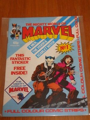 Mighty World Of Marvel Vol 2 #1 British Monthly June 1983 No Gift (G)^