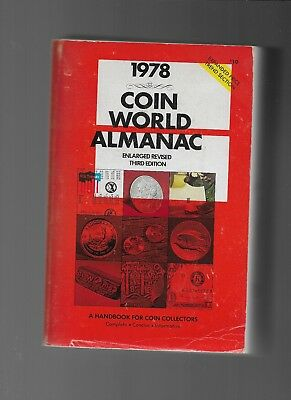 1978  Coin World Almanac Enlarged Revised Third Edition 984 Pages