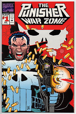 THE PUNISHER WAR ZONE #1 - 1992 - CGC Ready! - 9.6 OR BETTER